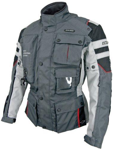 hit-air(無限電光) エアーバッグジャケット Motorrad-2 ダークグレー 2XL 4560216415051
