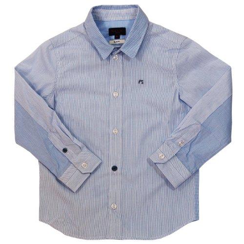 Armani Junior: Boys Button Down Aj Logo front-942215
