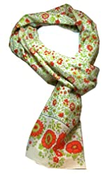 Anokhi 100% Cotton Voile Bitsy Citrus Fashion Scarf