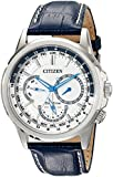 Citizen Men's BU2020-02A Calendrier Analog Display Japanese Quartz Blue Watch