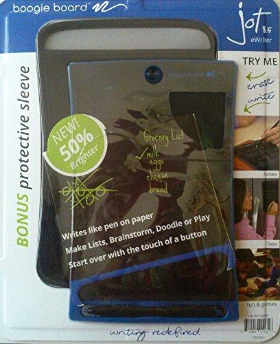 Boogie-Board-Jot-8.5-LCD-eWriter-Blue-Writing-Tablet-Plus-Neoprene-Sleeve-Plus-Stylus
