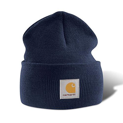 Carhartt, Cappellino in acrilico A18NVY, Blu, A18
