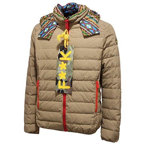 1969Q piumino uomo F**K PROJECT REVERSIBILE beige jacket men [M]