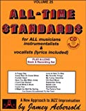 AEBERSOLD JAMEY - Tout instrument- Divers Auteurs - 25 All Time Standards + 2Cd