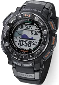Black Multi-Band 6 Atomic Triple Sensor Solar Pathfinder ProTrek Digital