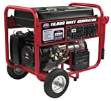 All Power America APGG10000C 15 HP OHV Gasoline Powered Generator with Electric Start, 10000-watt