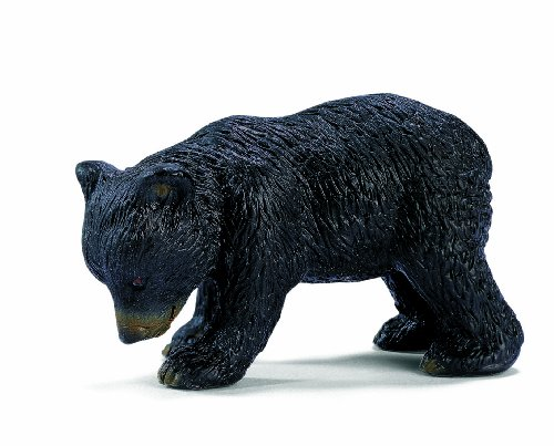 Schleich North America Bear Cub, Black - 1