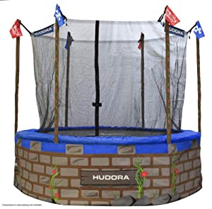 hudora castle effect trampoline covering. Black Bedroom Furniture Sets. Home Design Ideas