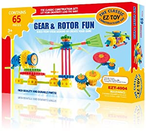 Gear & Rotor Fun by EZ-Toy