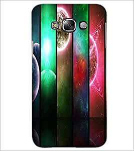 PrintDhaba Pattern D-2691 Back Case Cover for SAMSUNG GALAXY E7 (Multi-Coloured)