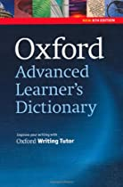 Oxford Advanced Learner's Dictionary