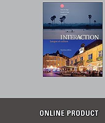 Premium Web Site for St. Onge/St. Onge/Powers' Interaction: Langue et culture, 9th Edition