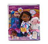 Disney Doc Mcstuffins Interactive Talking Doll With Magical Check Up Tools To Make Lambie Talk! Toy / Game / Play / Child / Kid