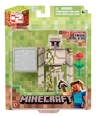 Minecraft Iron Golem Action Figure from Minecraft