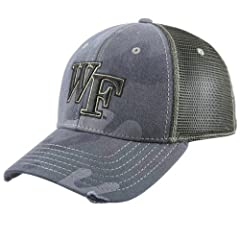 Buy Wake Forest Demon Deacons Camo Mesh Deliverance Hat by Pro Pocket Headgear
