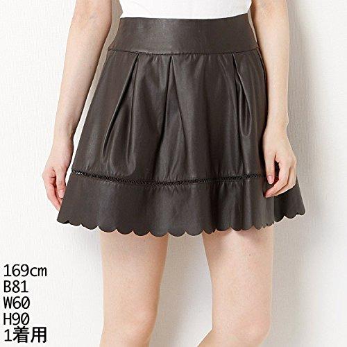 ウィルセレクション(WILLSELECTION) スカート(フェイクレザースカート)【62コゲチャ/M】