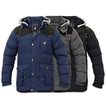 Men's Jacket Kangol GLOBIN Black 2X Large