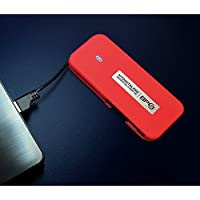 MyDigitalSSD BP5 512GB USB 3.0 Portable External Solid State Drive with Integrated USB Cable