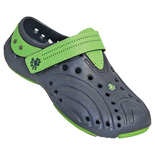 DAWGS Girls Premium Spirit Shoes NAVY WITH LIME GREEN 12 M US