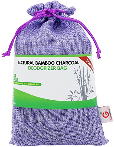 BUY MORE SAVE MORE Great Value SG Bamboo Charcoal Deodorizer Power Pack, Best Air Purifiers for Smokers & Allergies, Perfect Car Air Fresheners, Remove Smell for Home & Bathroom (Purple) (Allergenic Air Purifier compare prices)