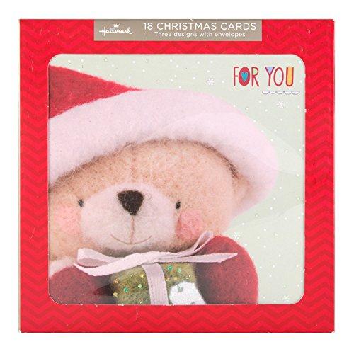 hallmark-tarjeta-de-felicitacion-tarjeta-de-navidad-tarjetas-de-forever-friends-18-unidades-3-diseno