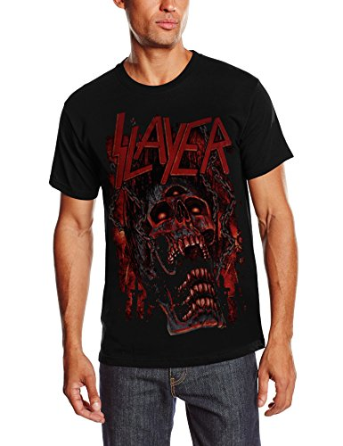 Slayer - Meathooks, Short sleeve da uomo, nero (black), S