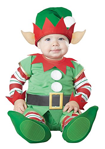 California Costumes Baby Christmas Elf