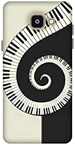 The Racoon Lean Piano Swirl hard plastic printed back case / cover for Samsung Galaxy A5(2016)