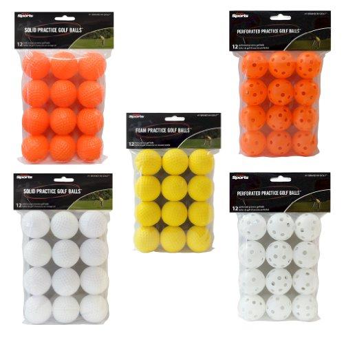 Practice Golf Balls - 12 Pack