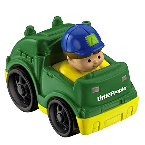 Fisher Price Little People Wheelies Vehicle Recycling Truck with Eddie