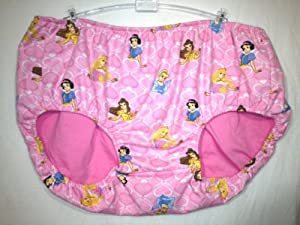 Adult Baby Training Pants, Panties Diaper Cover Princess Design. Size 28-42""