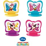 Wilton Disney Minnie Mouse Toppers Cupcakes Cakes Decorating Baking Fun 8 Ct