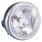 キタコ(KITACO) マルチリフレクターヘッドライトASSY ブラック 12V30/30W モンキー(MONKEY)  800-0601000