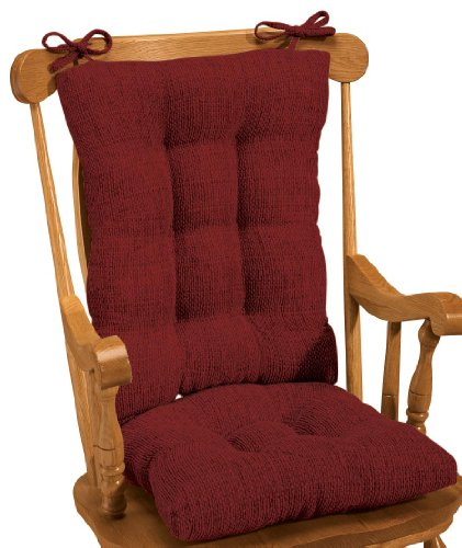 Miles Kimball Tyson Rocking Chair Cushion Set front-33933