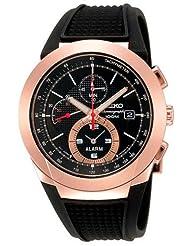 Seiko Alarm Chronograph SNAB50P1 SNAB50 SNAB50P Men's Watch