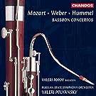 Mozart - Weber - Hummel: Concertos pour basson
