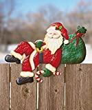 Santa Fence Toppers