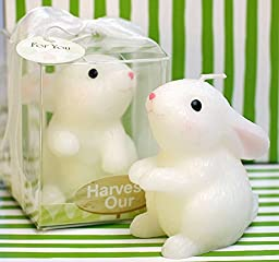 Chinese 12 Zodiac Bunny Smokeless Birthday Candle Rabbit Animal Candle