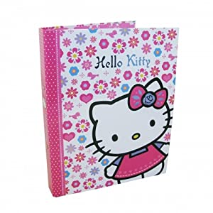 Hello Kitty 'Folky' Ringbinder Folder Stationery