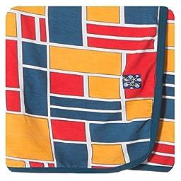 KicKee Pants Swaddling Blanket Bauhaus