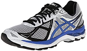ASICS Men's Gt-2000 3 Running Shoe,White/Royal/Black,9 M US