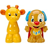 Fisher-Price Laugh & Learn Talk And Teach Puppy And Giraffe