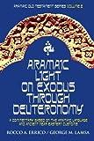 img - for Aramaic Light on Exodus through Deuteronomy (Aramaic Old Testament Series) (Volume 2) by Dr Rocco A Errico (2008-10-25) book / textbook / text book