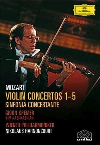 Mozart: Violin Concertos 1-5 [DVD] [2006] [Region 1] [NTSC]