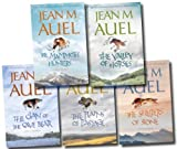 Jean M. Auel Earth Children Collection 6 Books Set Pack (The Land of Printed Caves, The Clan of the Cave Bear, The Valley of Horses, The Mammoth Hunters, The Plains of Passage) (Earth Children Collection)