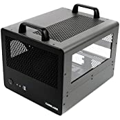 CaseLabs Bullet BH4 MATX Case With Handles And Dual Windows, Gunmetal
