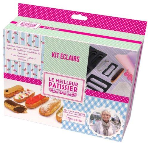 Le Meilleur Pâtissier 95352 MP Kit Eclairs de Génie Silicone