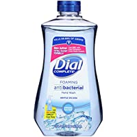 Dial Complete Antibacterial Foaming Hand Wash Refill in Spring Water, 32 Ounce