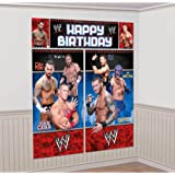 Amscan BB103090 Wwe Wall Decorating Kit