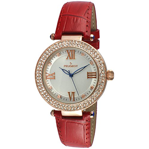 peugeot-womens-luxury-14k-rose-gold-plated-red-leather-dress-quartz-red-leather-dress-watch-model-30